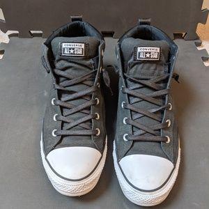 Men's black converse